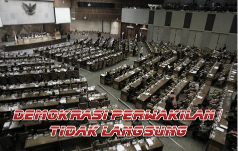 Pengertian Demokrasi Perwakilan / Tidak Langsung