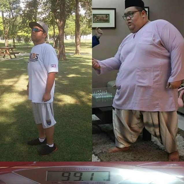 """""""Dulu Berat Saya 171Kg, Sekarang 85Kg"""""""