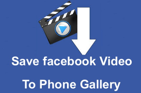 save video from facebook phone