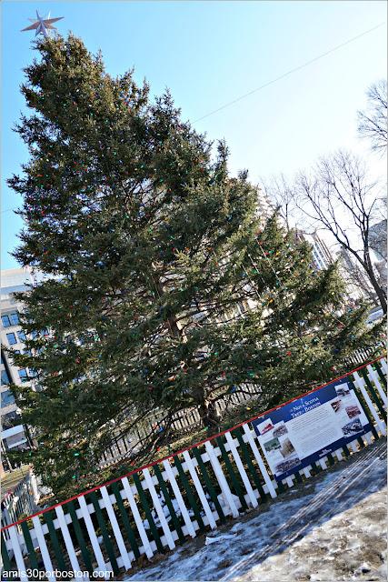 Árbol de Navidad Oficial de Boston 2017