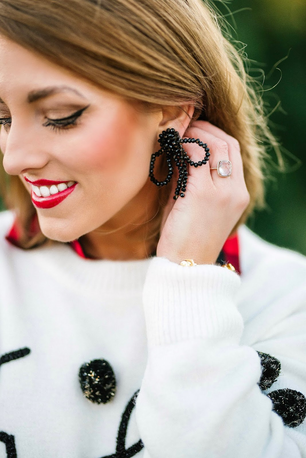 Bow Earrings + Gift Guide for the Pet Lovers - Something Delightful Blog