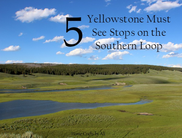 5 Yellowstone must see spots lower loop
