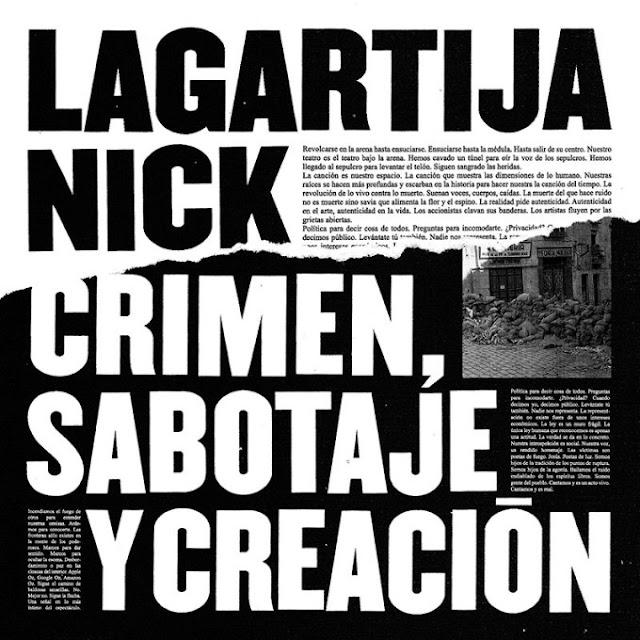 LAGARTIJA NICK - Crimen, sabotaje y creación 1