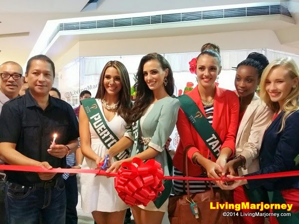 Miss-Earth-2014-Candidates at Gerry's Grill