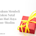 Hukum Membeli Barang Diskon Natal dan Hari Raya Non-Muslim
