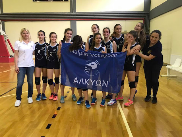 Τα κορίτσια του Α.Ο. Αλκυών στο final 4 της Πελοποννήσου