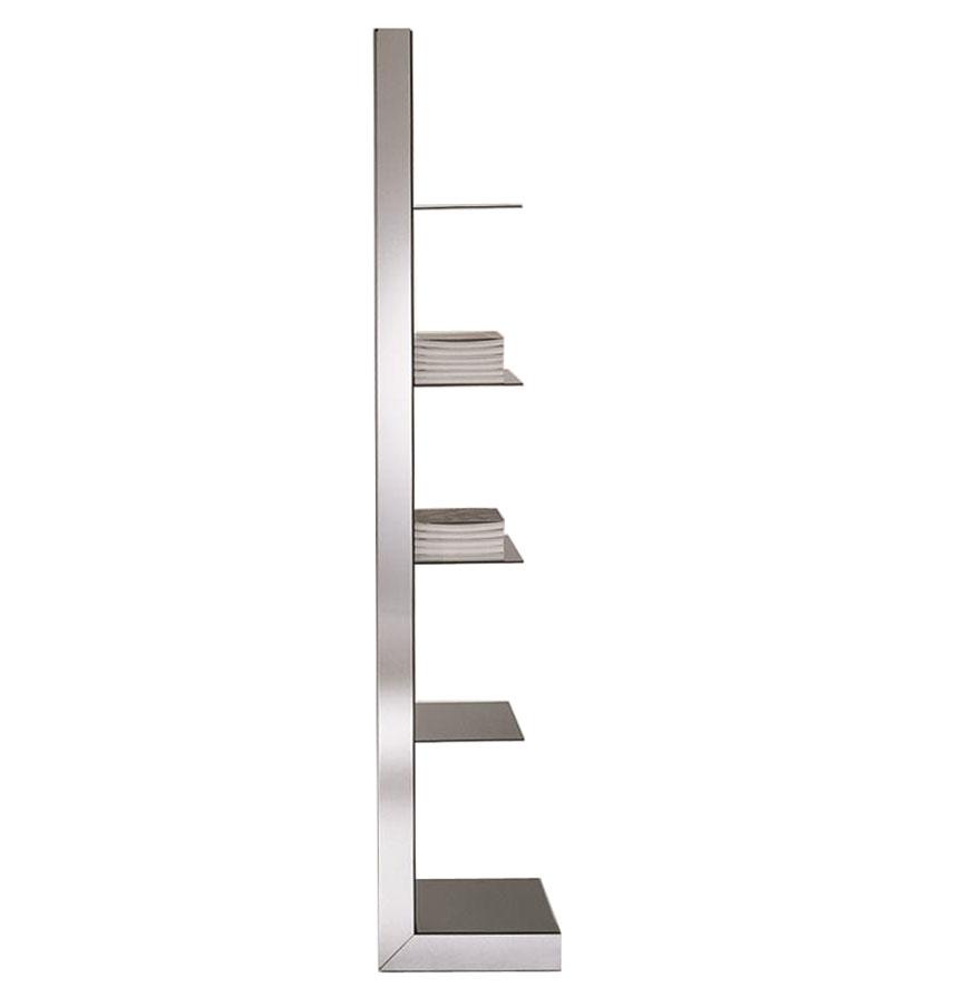 Free Standing Bathroom Floor Mirror With Shelves