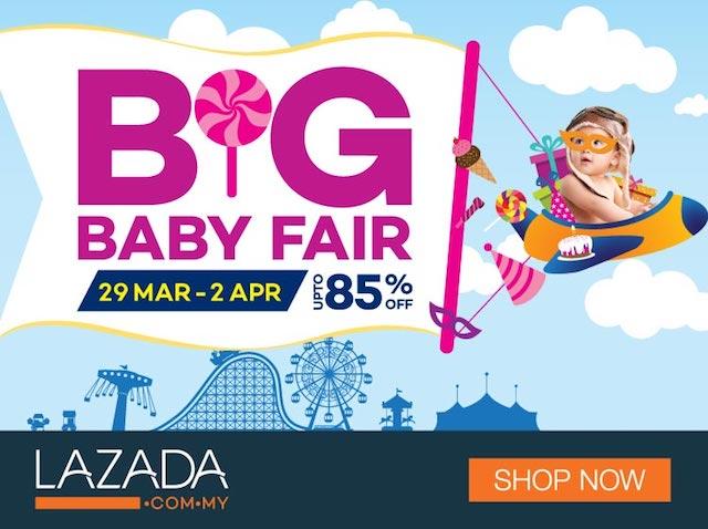 Lazada Malaysia Big Baby Fair