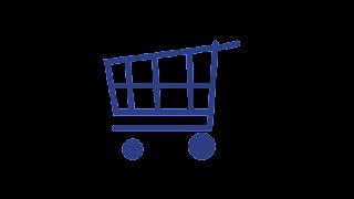 Carrinho de compras azul que remete á ideia de trazer lançamentos liberados para No Poo e Low Poo