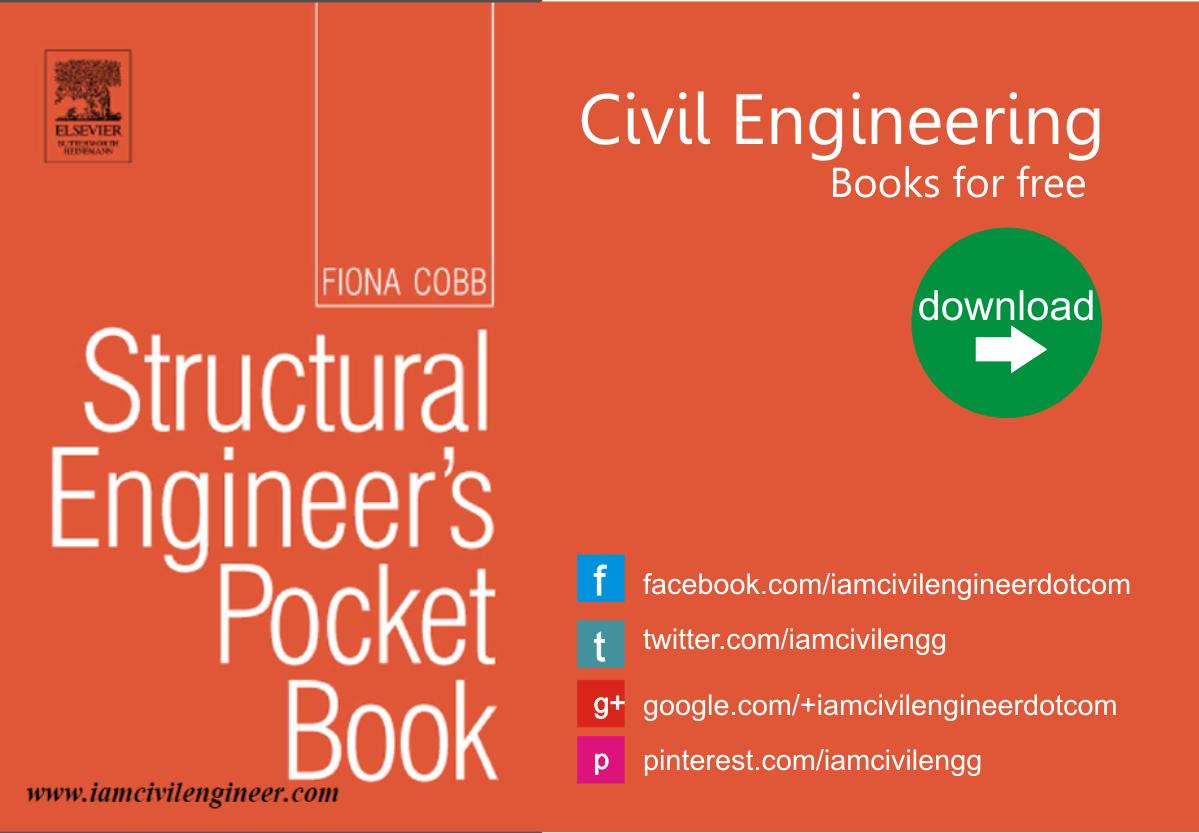 Structural Engineer's Pocket book Download - Iamcivilengineer