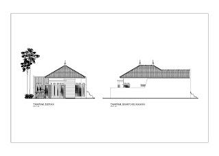 Image Result For Desain Atap Rumah Joglo Limasan