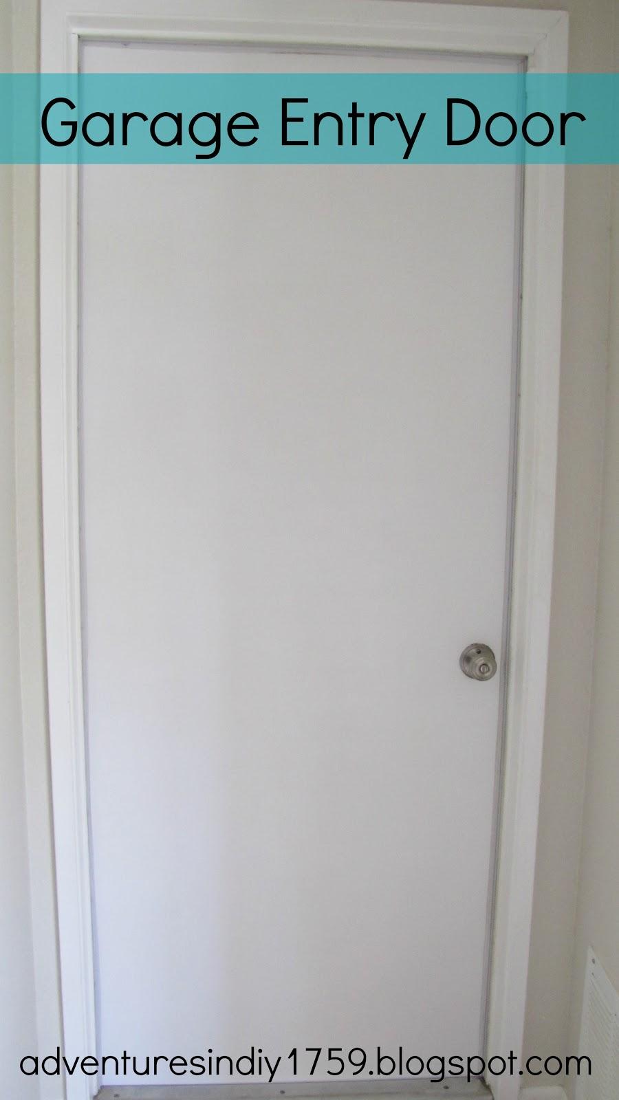 Adventures In Diy Garage Entry Door