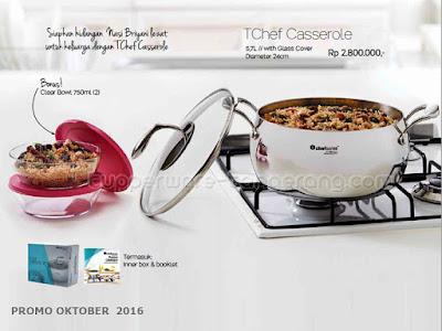 TChef Casserole ~ Tupperware Promo Oktober 2016