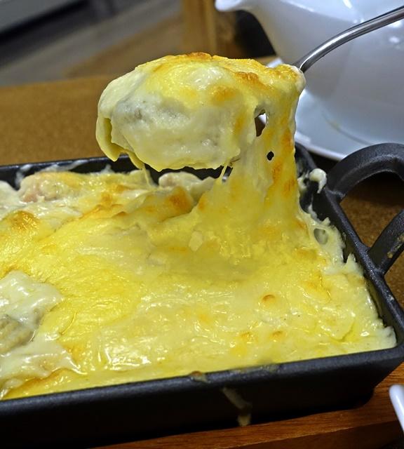 奶油焗烤白菜