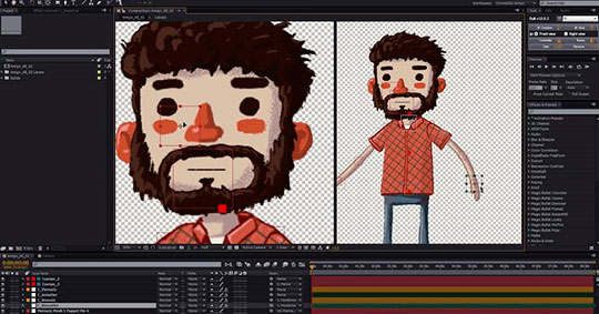 Animación de personajes desde el boceto