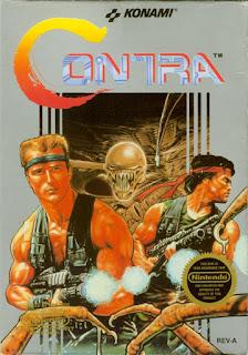 Cartucho de Contra, NES, 1988
