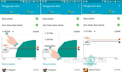 Cara Menghapus Penggunaan Data Android