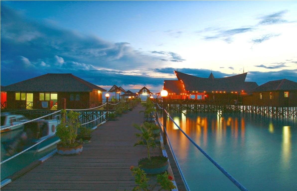 Restoran Maratua Paradise Resort