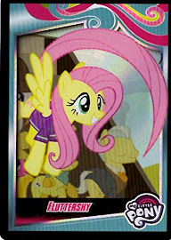 My Little Pony Fluttershy Series 4 Trading Card