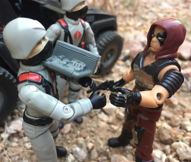 1984 Zartan,  Firefly, 1983 Destro, Stinger, Stinger Driver