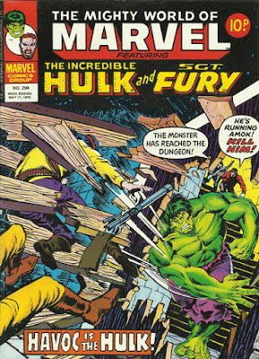Mighty World of Marvel #294, the Incredible Hulk
