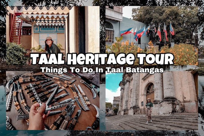 taal heritage tour
