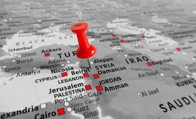 """CNN publica artículo con un mapa que reemplaza a """"Israel"""" por Palestina"""