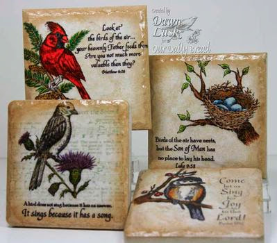 ODBD Products - Bird and Nest Bundle  (Sing for Joy, Nest Set, You Will Find Refuge, He Watches Me)