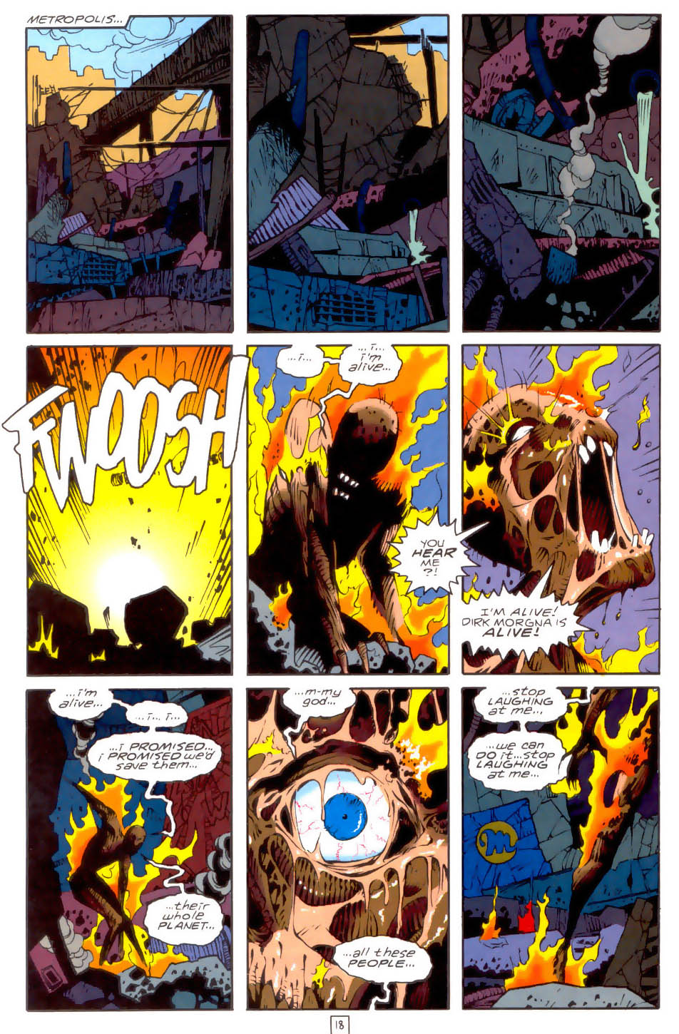 Legion of Super-Heroes (1989) 34 Page 18