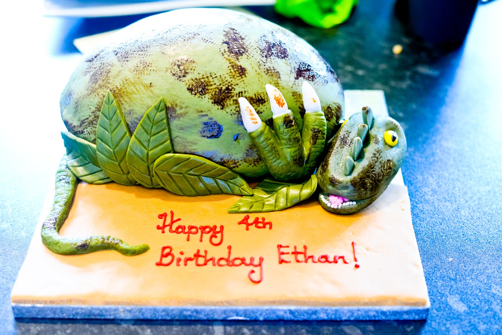 A Dinosaur Themed Birthday Party Ethan S Fourth Birthday