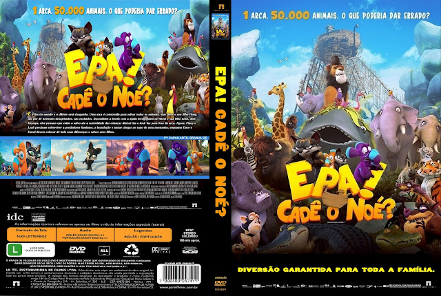 Capa DVD Epa Cadê O Noé?