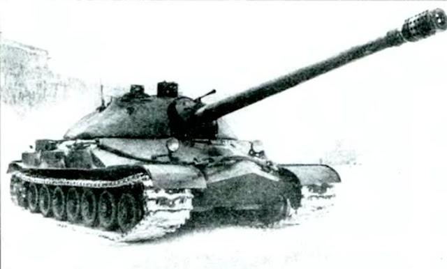 Танк ИС-7 Объект 260 во время государственных испытаний. 1948 г.