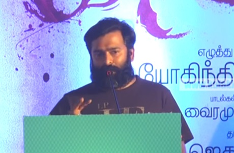 Sathya sponsors me Petrol and Water Packet – Santhosh Narayanan! | Jetlee Teaser Launch