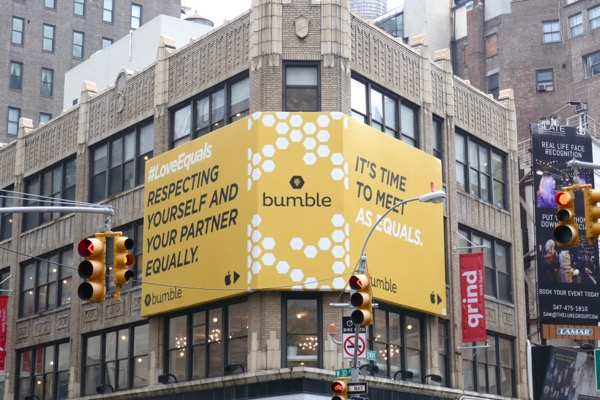 Bumble love equally billboard