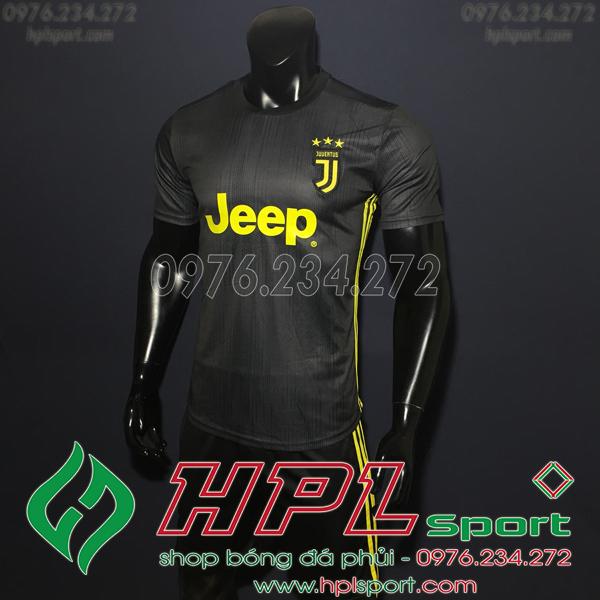 Áo đá bóng câu lạc bộ Juventus  đen 2019
