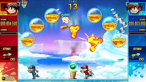 Pang Adventures Gameplay