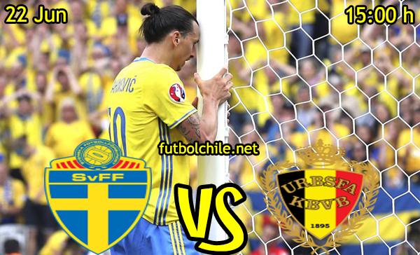 VER STREAM RESULTADO EN VIVO, ONLINE: Suecia vs Bélgica