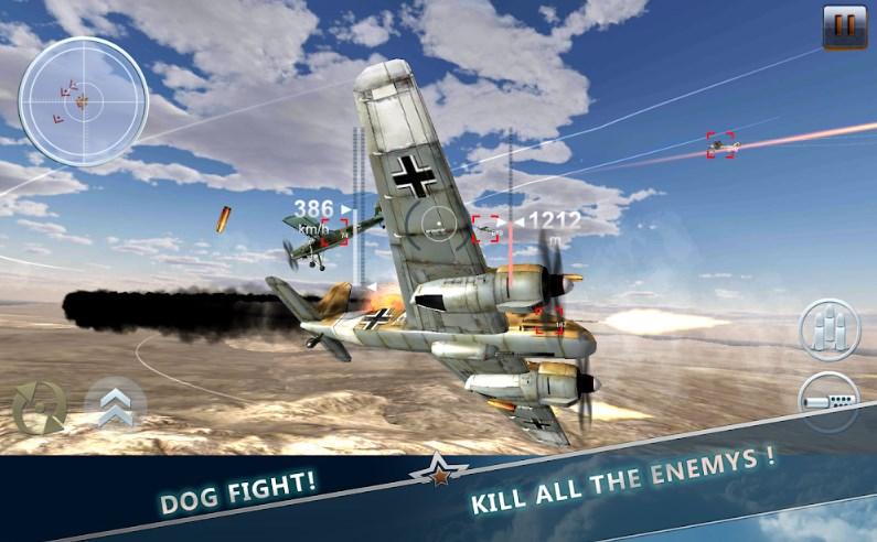 10 Game Perang Pesawat Offline dan Online di Android