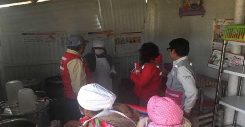 QALI WARMA: Programa social supervisa el servicio alimentario en colegios de zonas altas de Puno - www.qaliwarma.gob.pe