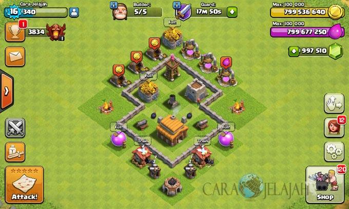 Desain Base Town Hall 3 Terbaik Dan Terbaru Clash Of Clans 20