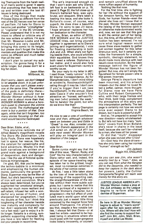 Read online Wonder Woman (1987) comic -  Issue #71 - 25