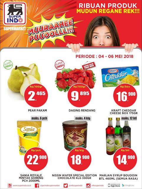 promo harga kaget di Super Indo