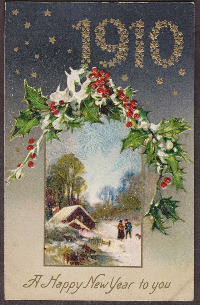 Cute And Beautiful Vintage New Year S Postcards Vintage