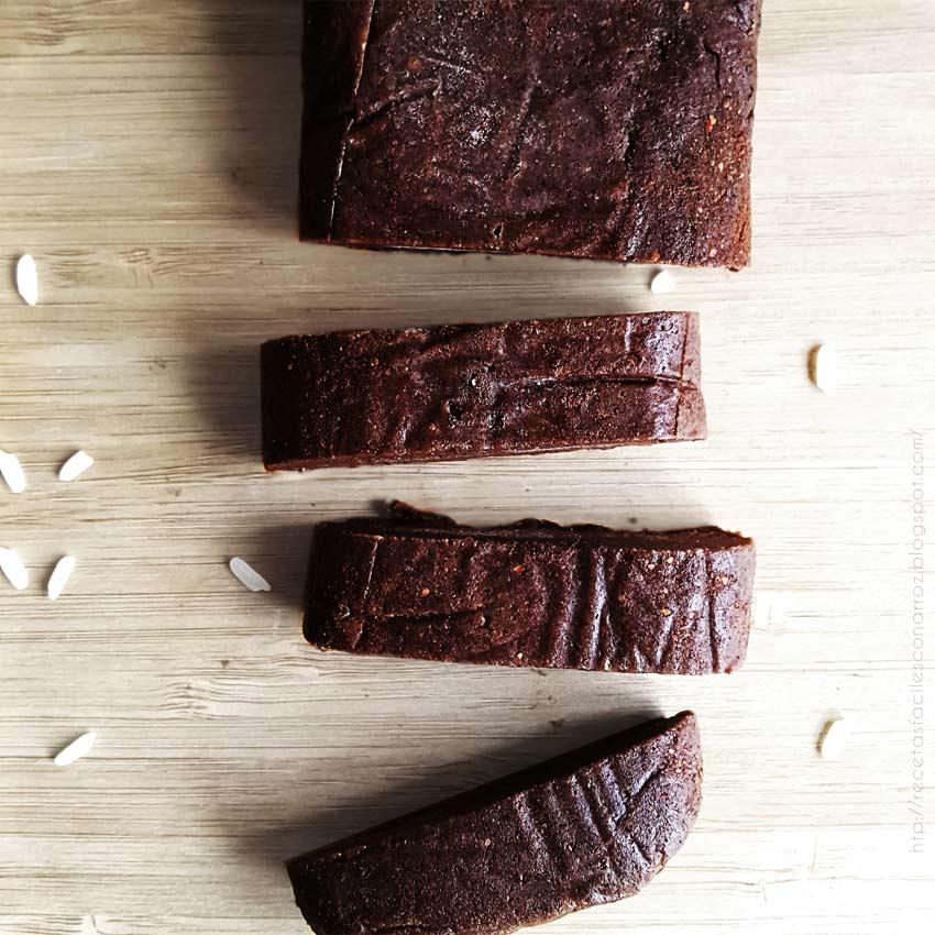 turron cremoso de chocolate con arroz