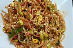 Resep Sayur taoge ala korea yang simpel dan enak
