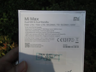 Xiaomi Mi Max 3/32 4G LTE Ram 3GB Camera 16MP Fingerprint