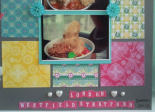 Make: A Scrapbook Page - Much Love for Pinkberry 2