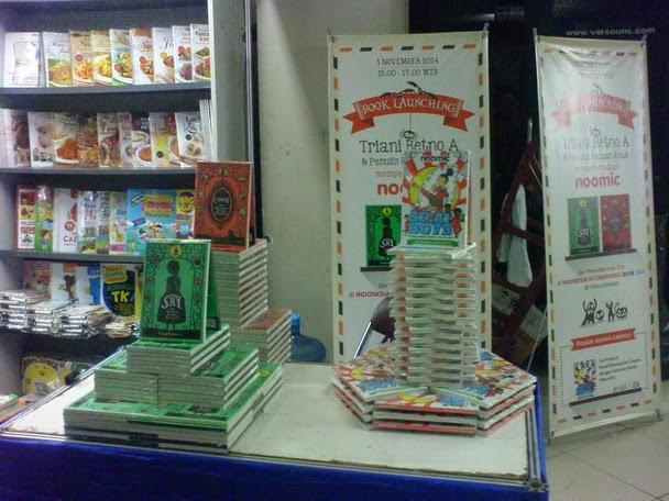 Launching Buku di IIBF