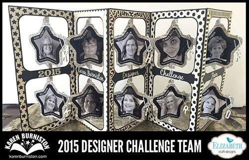Proud Member of Karen Burniston's 2015 Design Team