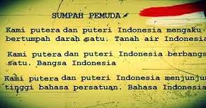 contoh puisi sumpah pemuda Pemuda Indonesia